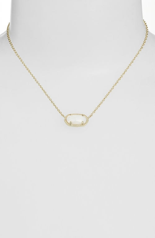 'Elisa' Pendant Necklace by Kendra Scott in Pretty Little Liars - Season 6 Episode 5