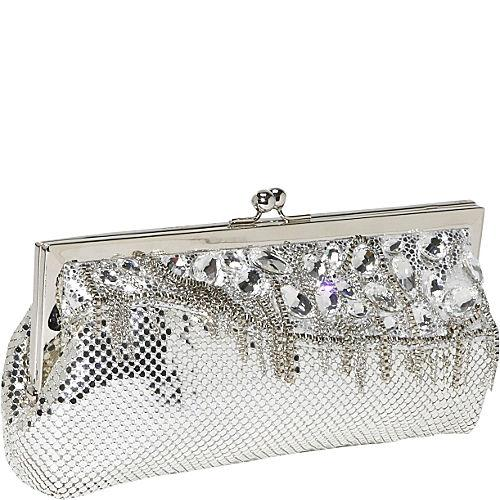 Waterfall Framed Clutch by Whiting and Davis in Walk of Shame