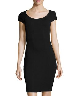 April Short-Sleeve Jersey Dress by Diane von Furstenberg in The DUFF