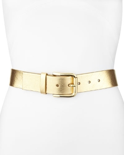 Metallic Leather Belt by Neiman Marcus in Sex and the City 2