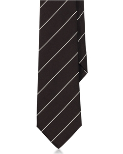 Striped Peau De  Soie Tie by Ralph Lauren in Life