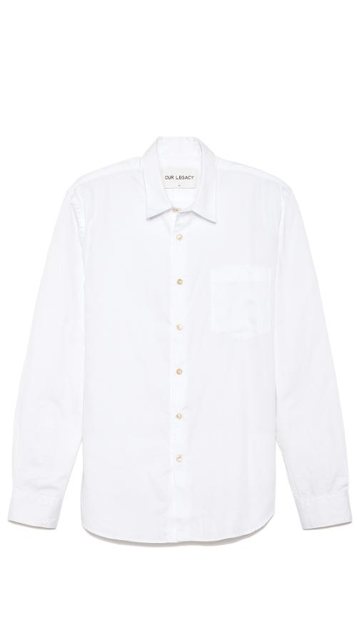 First Button Down Shirt by Our Legacy in Yves Saint Laurent