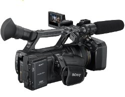 AVCHD Hand-Held Camcorder by Sony in While We're Young