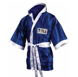 Stock Satin Robe by Title Boxing in Hands of Stone