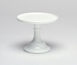 Milk White Glass Cake Stand by Mosser Glass in Sex and the City 2