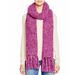 Chunky Knit Scarf by Aqua in Star