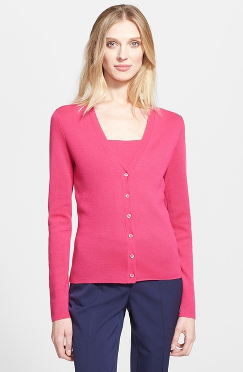 Cashmere Cardigan by Michael Kors in Suits