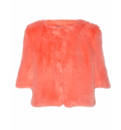 Flint Faux Fur Jacket by Shrimps in Scream Queens