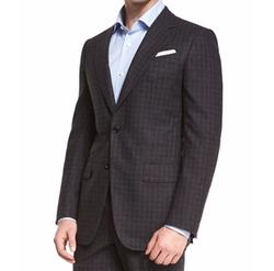 Check Two-Piece Suit by Ermenegildo Zegna in Empire