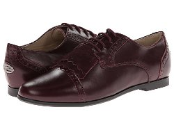 Oxford Leather Lace-up Shoes by Venettini in Shutter Island