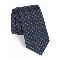 Dot Silk Tie by Ted Baker London in Snowden