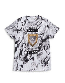 Paint the Sky Black T-Shirt by Diesel in Ballers