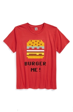 'Burger Me' Graphic T-Shirt by Junk Food in Max