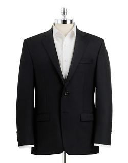 Classic Fit Two-Button Wool Suit Jacket by Lauren Ralph Lauren in The Purge: Anarchy
