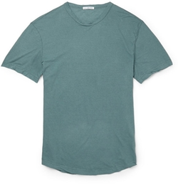 Crew Neck Cotton Jersey T-Shirt by James Perse in Ballers