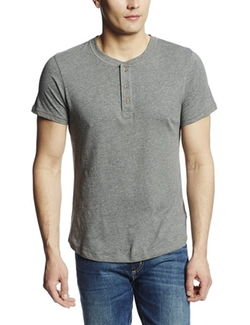 Men's Wagner Henley Shirt by Alternative in She's Funny That Way