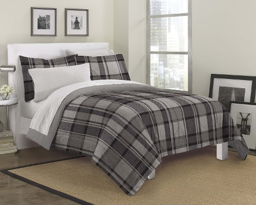Ultimate Plaid Ultra Soft Microfiber Bedding Comforter by Loft Style in Paper Towns
