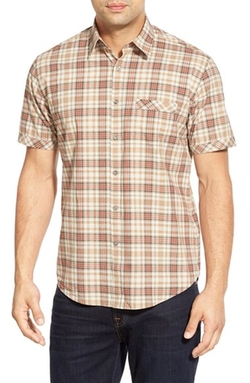 'Jordan Plaid' Short Sleeve Sport Shirt by James Campbell in American Pie