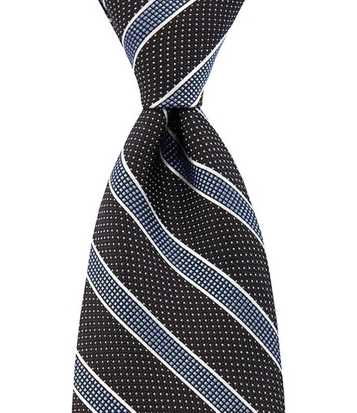 Marx Mixed Stripe Silk Tie by Hart Schaffner in A Walk in the Woods