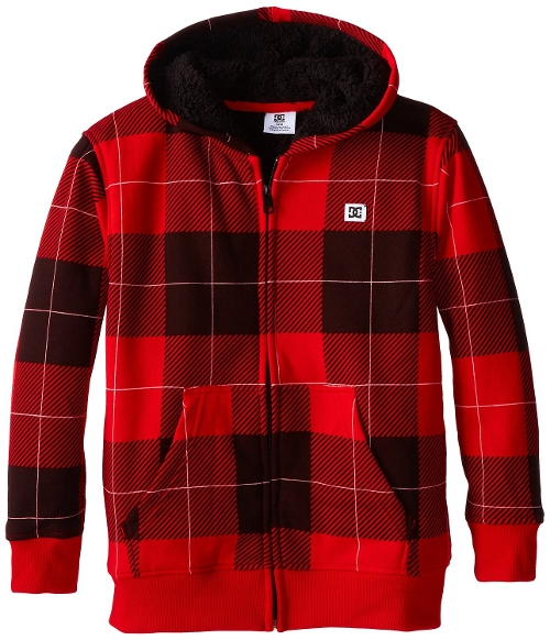 Sherpa Hoody Formula One Jacket by DC Apparel in The Visit