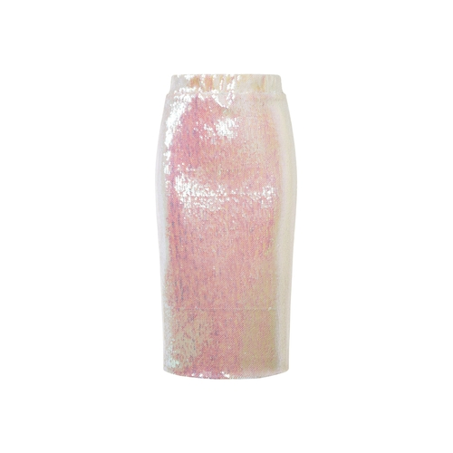 Sequin Embellished Pencil Skirt by Essentiel Antwerp in Scream Queens
