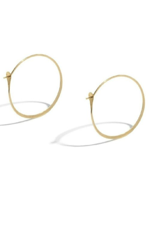 Classic Hoop Earrings by Platino in Sex and the City 2