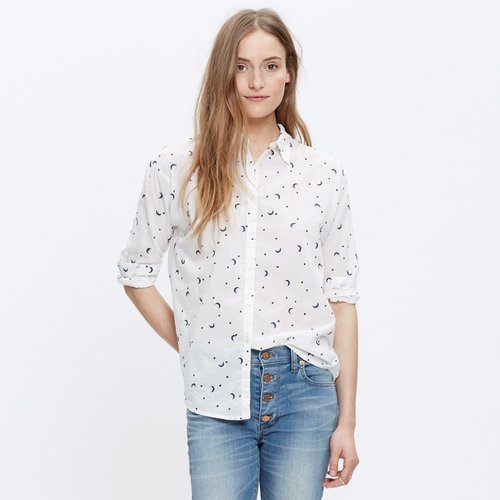 Shrunken Trapeze Shirt by Madewell in Krampus