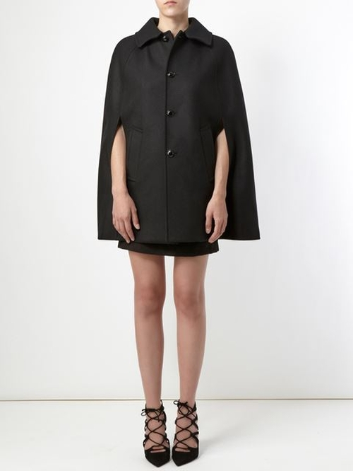 Caped Cloak by Saint Laurent in Confessions of a Shopaholic