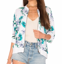 Anjelica Bomber Jacket by Cupcakes and Cashmere in A Bad Moms Christmas