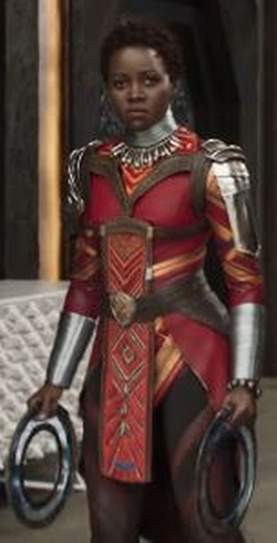 Custom Made Royal Guard Suit by Ruth E. Carter (Costume Designer) in Black Panther