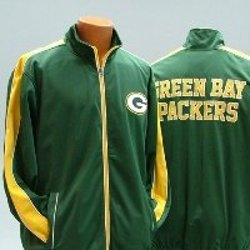 Green Bay Packers NFL Track Jacket by G-III Sports in The Town