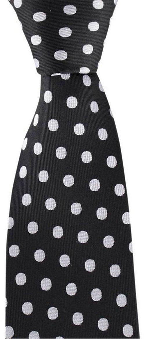 Black/White Polka Dot Tie by David Van Hagen in The Man from U.N.C.L.E.