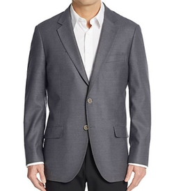 Slim-Fit Textured Wool Sport Coat by Saks Fifth Avenue in War Dogs