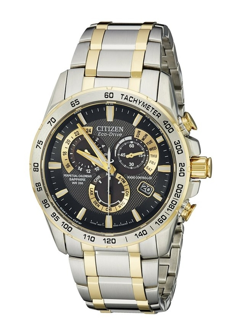 """Perpetual Chrono Two-Tone Stainless Steel Watch by Citizen in Empire - Season 2 Episode 8"
