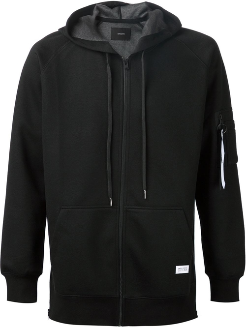 Zipped Hoodie Jacket by Stampd in We Are Your Friends