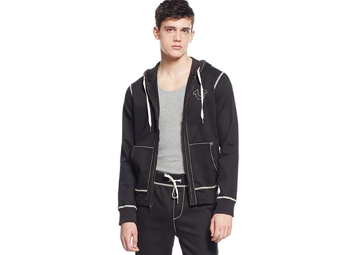 Zip-Front Hoodie by True Religion in The Martian