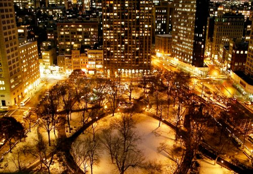 Madison Square Park New York City, New York in That Awkward Moment