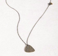 Brass Guitar Necklace by John Varvatos in Shadowhunters