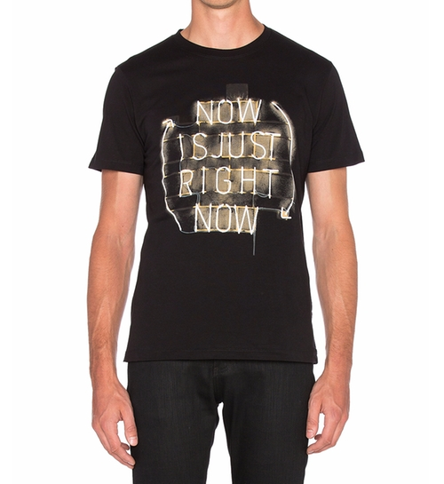 Joe GL T-Shirt by Diesel in Gold