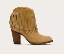 Ilana Fringe Short Boots by Frye in A Bad Moms Christmas
