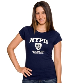 NYPD Athletic T-Shirt by NYC Firestore in Brooklyn Nine-Nine