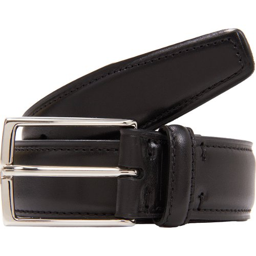 Leather Dress Belt by Ermenegildo Zegna in While We're Young