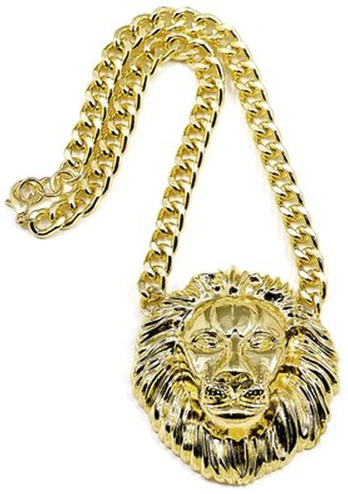 Lion Necklace by GWOOD in Jem and the Holograms