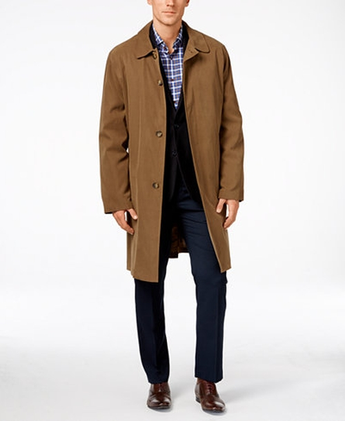Coat Durham Raincoat by London Fog in Guilt - Season 1 Episode 4