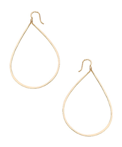 Pear Hoop Earrings by Charlene K in Chi-Raq