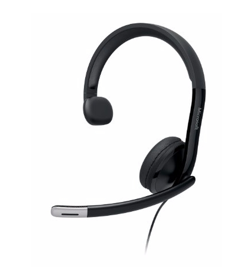 Lifechat LX-4000 Headphones by Microsoft in The Intern
