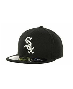 Chicago White Sox Authentic Collection Hat by New Era 59Fifty in Straight Outta Compton