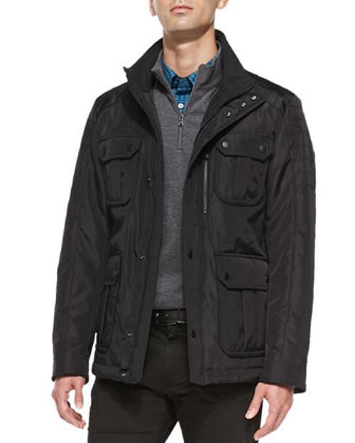 Field Jacket by Hugo Boss in Mortdecai