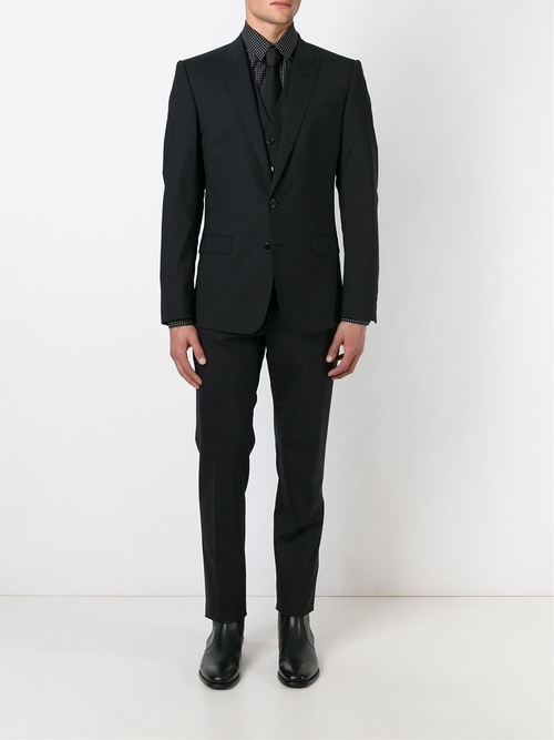 Classic Three-Piece Suit by Dolce & Gabbana in Tomorrow Never Dies