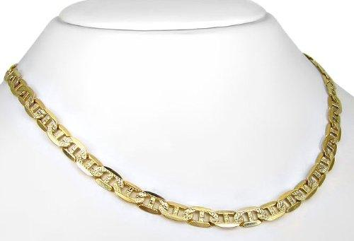 Mens 10k Yellow Gold Mariner Chain Necklace by Front Jewelers in Hot Tub Time Machine 2